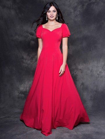 Платье lesly, цвет красно-малиновый
