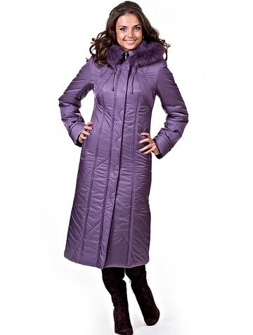 Пальто sotofa, цвет ежевичный мусс