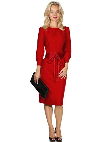 Платье lozy, цвет красный