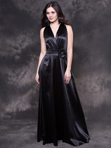 Платье liza, цвет черный