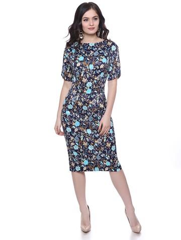 Платье vilary, цвет сине-бирюзовый