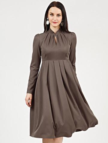 Платье efimia, цвет кофе с молоком