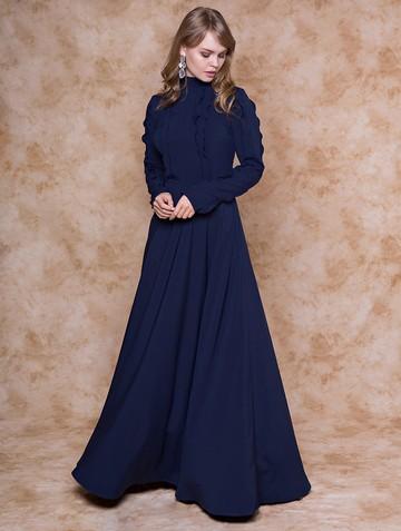 Платье palatino, цвет темно-синий