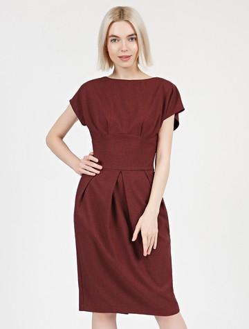 Платье rodika, цвет бордовый