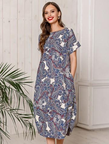 Платье uolly, цвет молочно-синий