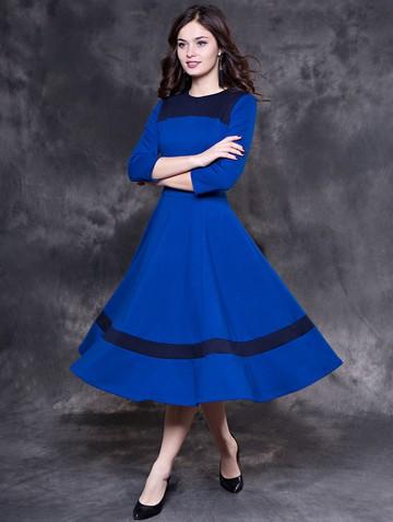 Платье breny, цвет синий