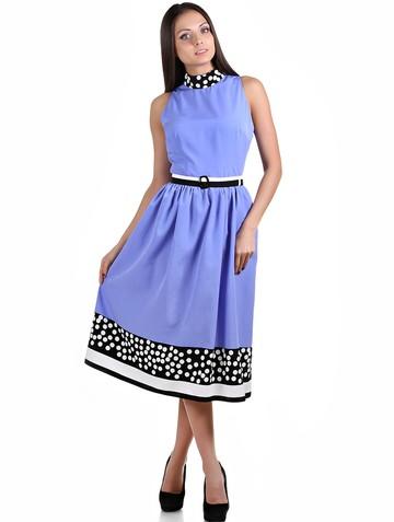Платье djastin, цвет сиреневый