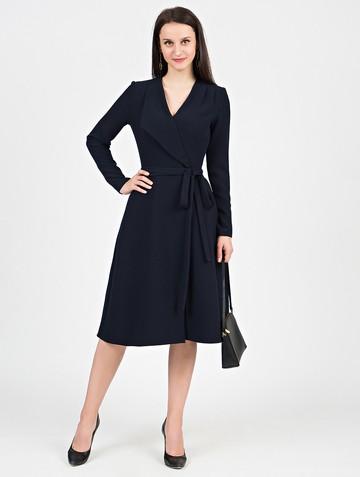 Платье priscilla, цвет темно-синий