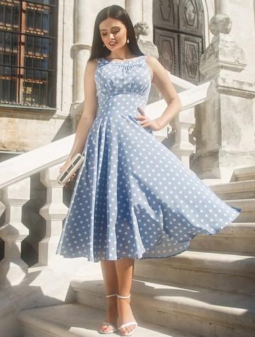 Платье lubava, цвет серый