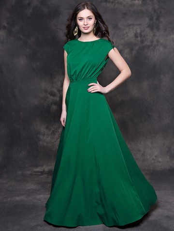 Платье kamila, цвет зеленый