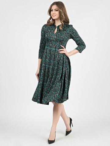 Платье linnea, цвет черно-бирюзовый