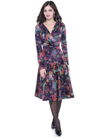 Платье elviza, цвет живописный