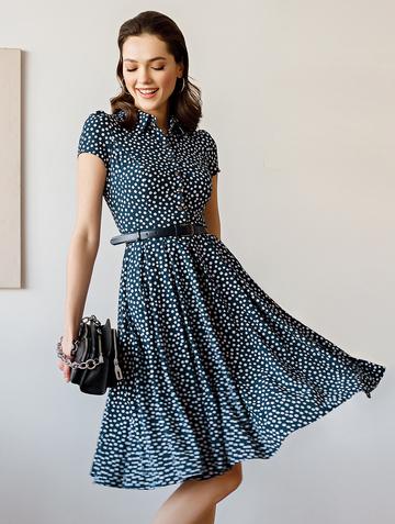 Платье trisha, цвет синий