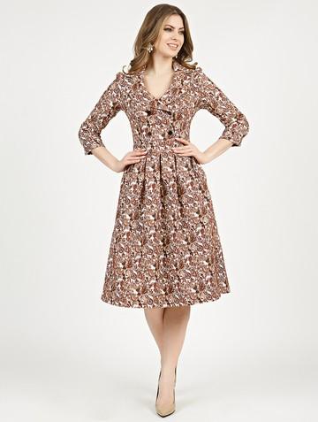 Платье varia, цвет терракотовый