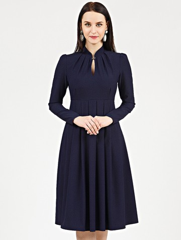 Платье efimia, цвет темно-синий