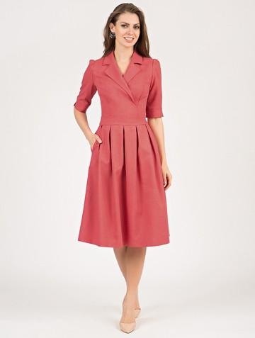 Платье darsia, цвет коралловый
