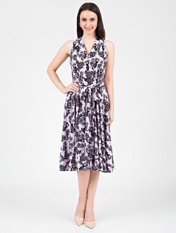 Платье serafima, цвет сиреневый
