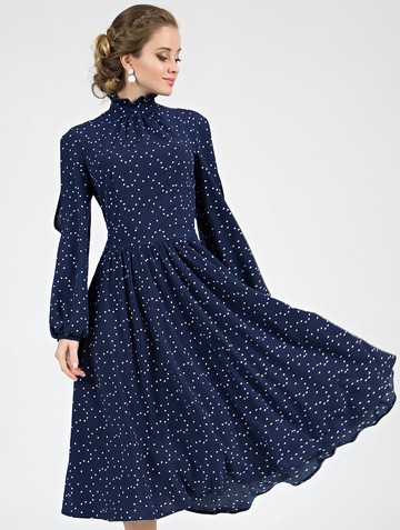Платье slay, цвет темно-синий