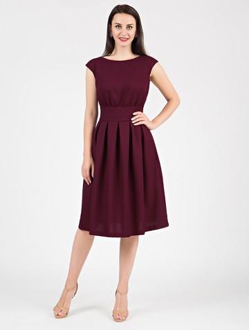 Платье ravena, цвет сливовый