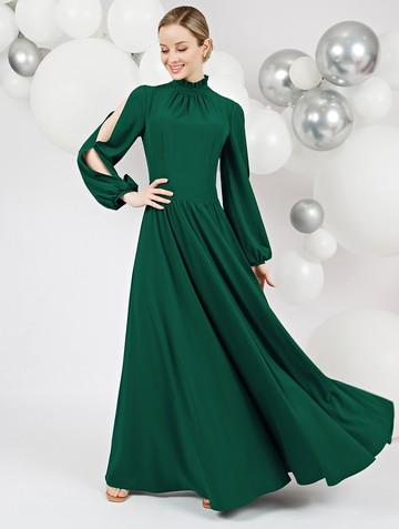 Платье deffy, цвет зеленый
