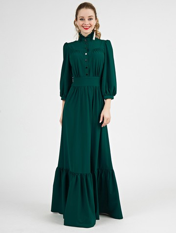 Платье deyla, цвет изумрудный