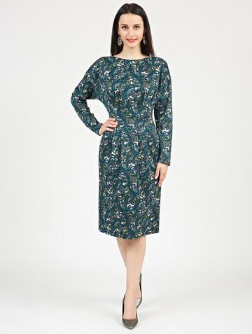 Платье nisetty, цвет сине-зеленый