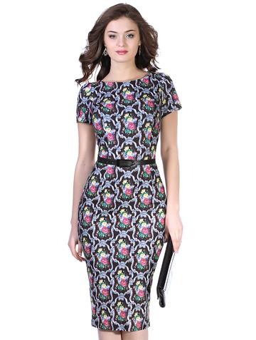 Платье roma, цвет шоколадный