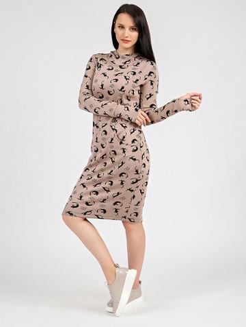 Платье nixy, цвет бежевый