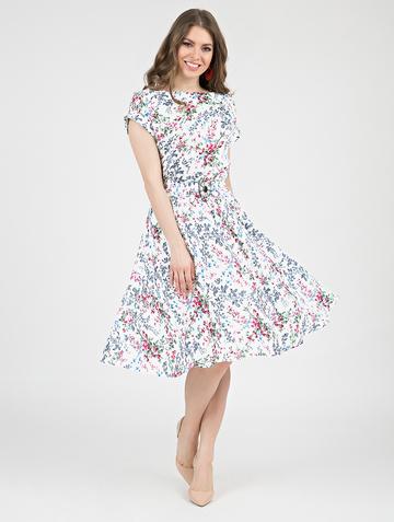 Платье lanty, цвет белый