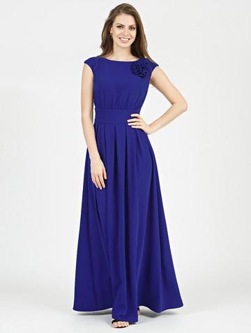 Платье agnia, цвет ультрамарин