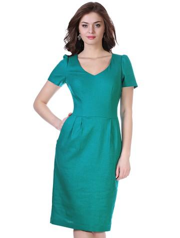 Платье moly, цвет бирюзовый