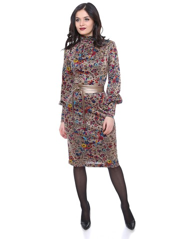 Платье delly, цвет разноцветный