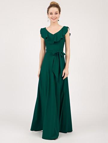 Платье tesla, цвет изумрудный