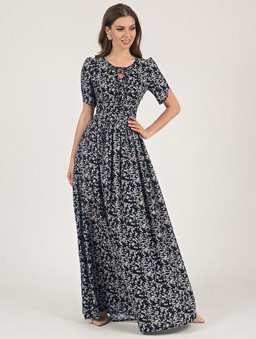 Платье ananda, цвет темно-синий