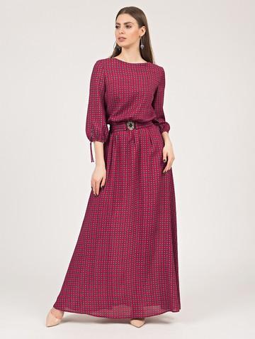 Платье assanta, цвет бордовый