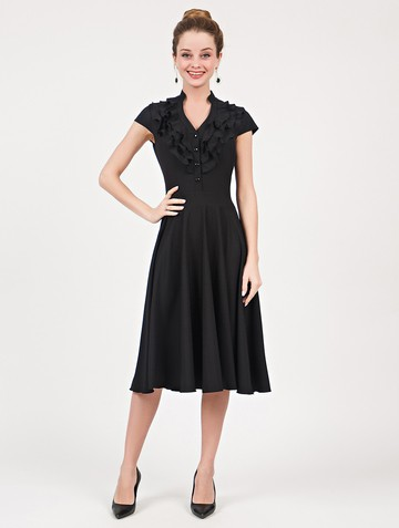 Платье fernanda, цвет черный