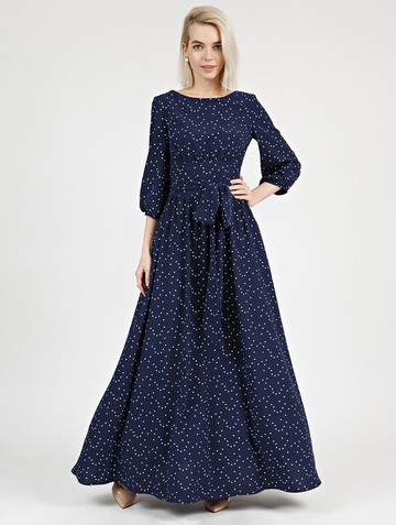 Платье rufis, цвет темно-синий