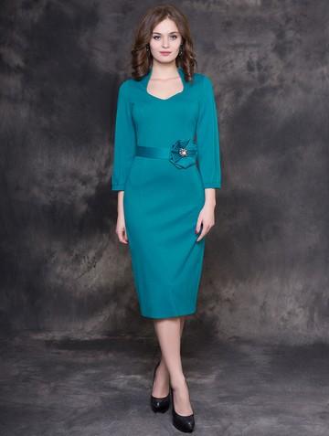 Платье eivory, цвет бирюзовый