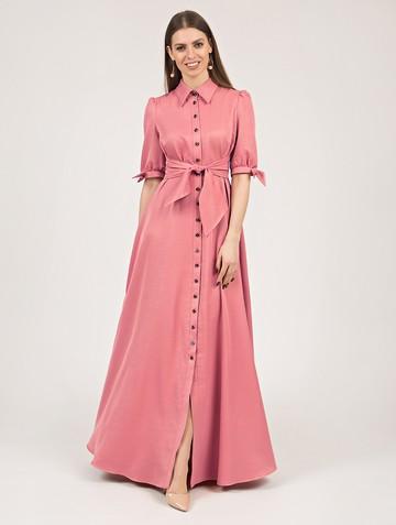 Платье paola, цвет персиковый