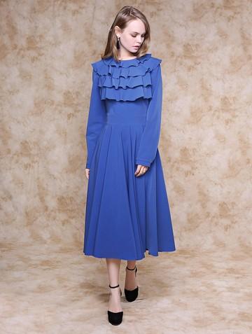 Платье keita, цвет голубой