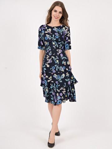 Платье lionel, цвет сине-бирюзовый