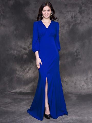Платье viky, цвет ультрамарин