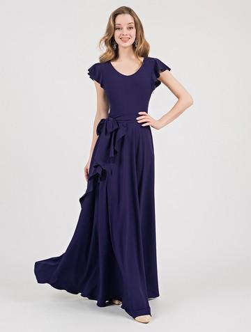 Платье selesta, цвет чернильный