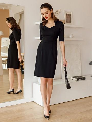 Платье tilly, цвет черный