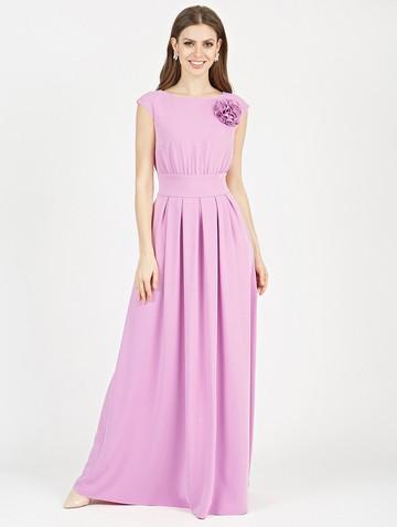 Платье agnia, цвет розовый