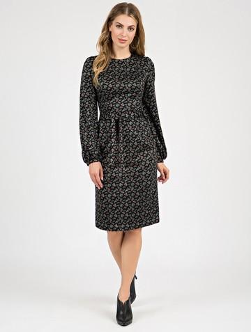 Платье varvara, цвет черный