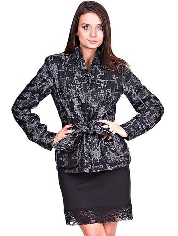 Жакет eliso, цвет черный жемчуг