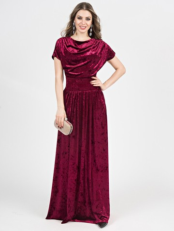 Платье irosy, цвет бордовый