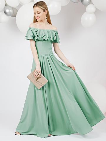 Платье arizona, цвет серо-зеленый
