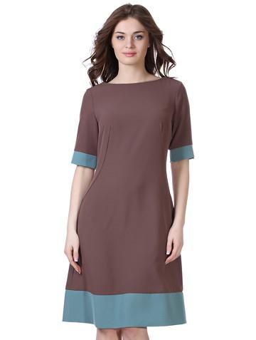 Платье kapa, цвет кофейный